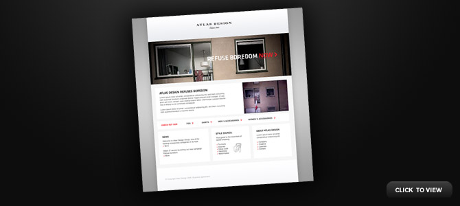 Atlas Design web