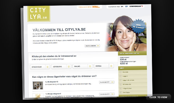 Citylya website